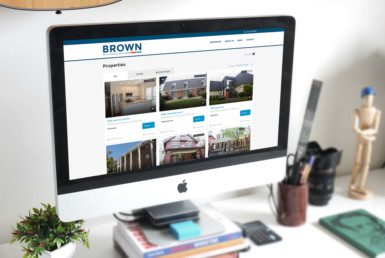 brown multifamily website